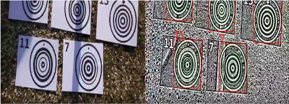 Non supervised perceptual model for target recognition in UAVs (with CMM/MinesParisTech)
